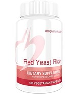 Designs for Health - Red Yeast Rice - 1200mg, 180 Capsules - $42.03