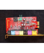 AUDIO MAX 7.1 motherboard daughter soundcard A425 Surround sound card NICE - $18.69