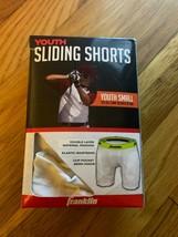 Franklin Sports Baseball Youth Sliding Shorts - Small - $8.90
