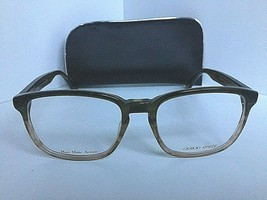 New Giorgio Armani  GA 936 GA936 9DQ 53mm Green Brown Men's Rx Eyeglasse... - $99.99