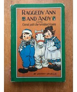 Raggedy Ann And Andy And The Camel With The Wrinkled Knees 1960 Hardcove... - $12.19
