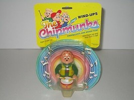 Ideal 1983 The Chipmunks Theodore on Drums Wind-Ups Toy SEALED - £13.80 GBP