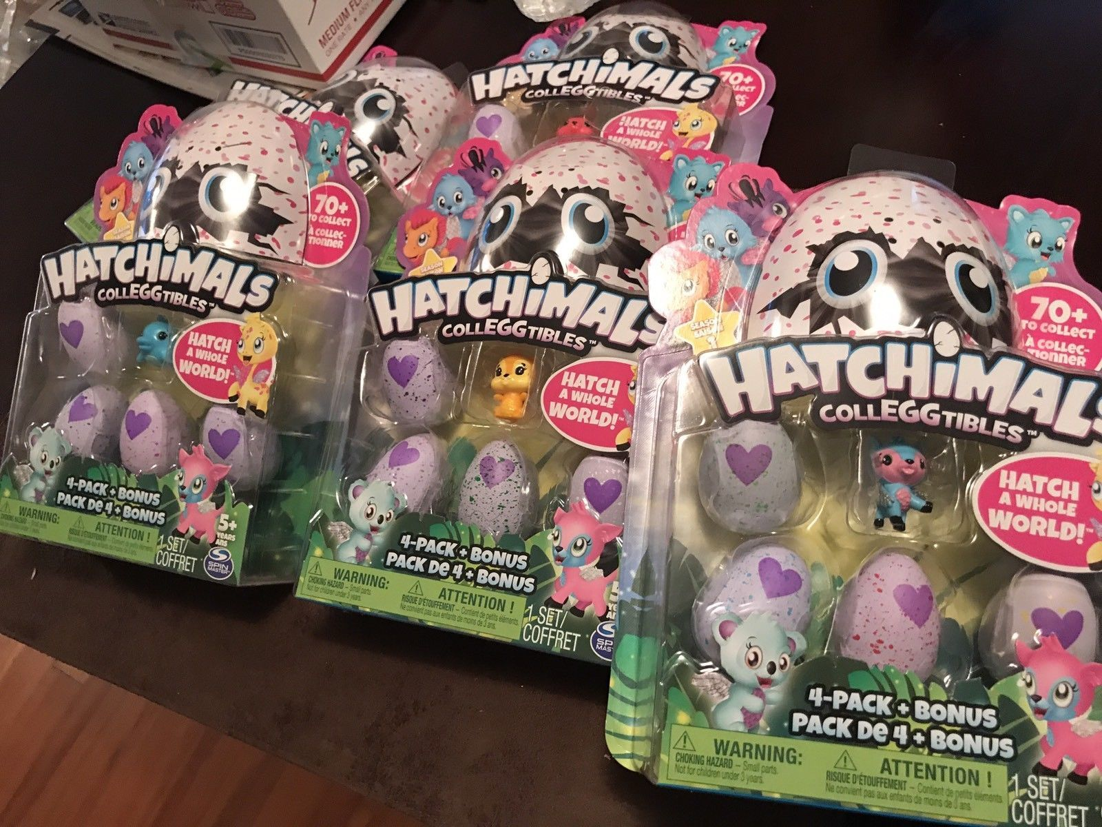 Hatchimals - Colleggtibles - 4-Pack Bonus Plus Spinmaster