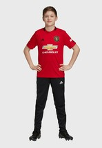 Adidas DW4138 Boy's Manchester United Soccer Jersey Tee Real Red - $49.34