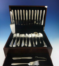 Lasting Spring by Oneida Sterling Silver Flatware Set For 12 Service 59 ... - $2,280.00
