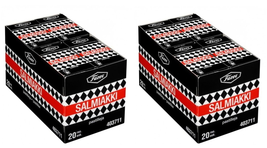 FAZER 40 x 40g SALMIAKKI LOT Finland (two retail packs) - $89.09
