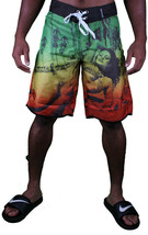 T.I.T.S. Two In The Shirt Hot Girl Beach Jamaica Swim Surf Board Shorts Size: 28 image 2