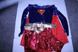 Women's Superwoman Superman Supergirl XL Halloween Costume (Multicolor) ... - $23.10