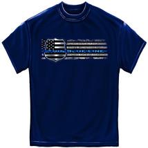 New BLUE LIVES MATTER Police  T Shirt LAW ENFORCEMENT   Thin Blue Line - £14.39 GBP+