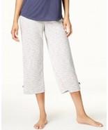 Jenni by Jennifer Moore Printed Cropped Pajama Pants - £11.18 GBP