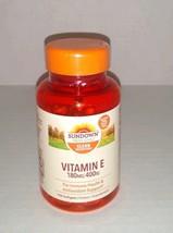 Sundown Naturals Vitamin E, 400 IU, 100 Softgels Exp 05/2023 - $14.11