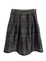 Forever 21 contemporary women's gore skirt black size M - $13.75
