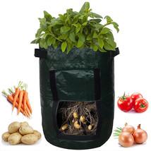 1Pcs Woven Fabric Bags Potato Cultivation Planting Garden Pots Planters - $313,42 MXN