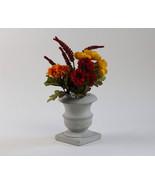 Concrete Flower & Plant Vase Handmade Natural Gray Home Decor Modern - $25.99