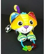 Lamaze Percy Cat Baby Plush Rattle Sensory Stroller Crib Activity Toy Ha... - $20.78