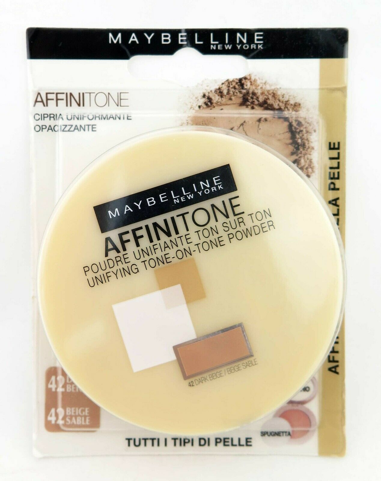 Primary image for Maybelline Affinitone Pressed Powder *Choose your shade*