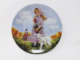 "Reco ""Mary Had a Little Lamb"" Collectible Plate - Mother Goose Series - $16.14"