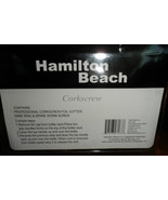 Hamilton Beach Corkscrew - $10.88