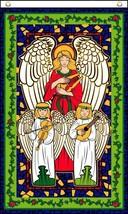 ANGELS IN HEAVEN 3X5 FLAG FL769 banner XMAS w grommets christmas angel r... - $6.27