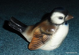 Brown Sparrow Goebel Bird Figurine Collectible From West Germany CV73 - GIFT! - $23.27