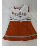 Texas Longhorns Cheerleader Child's Dress Sz 2T  - $16.95