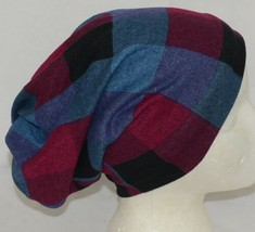 Howards Arianna Collection Buffalo Plaid Convertible Hat Adult Blues image 2
