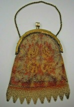 Art Deco Mesh Purse Made in Germany from the 1920's-30's - $61.75