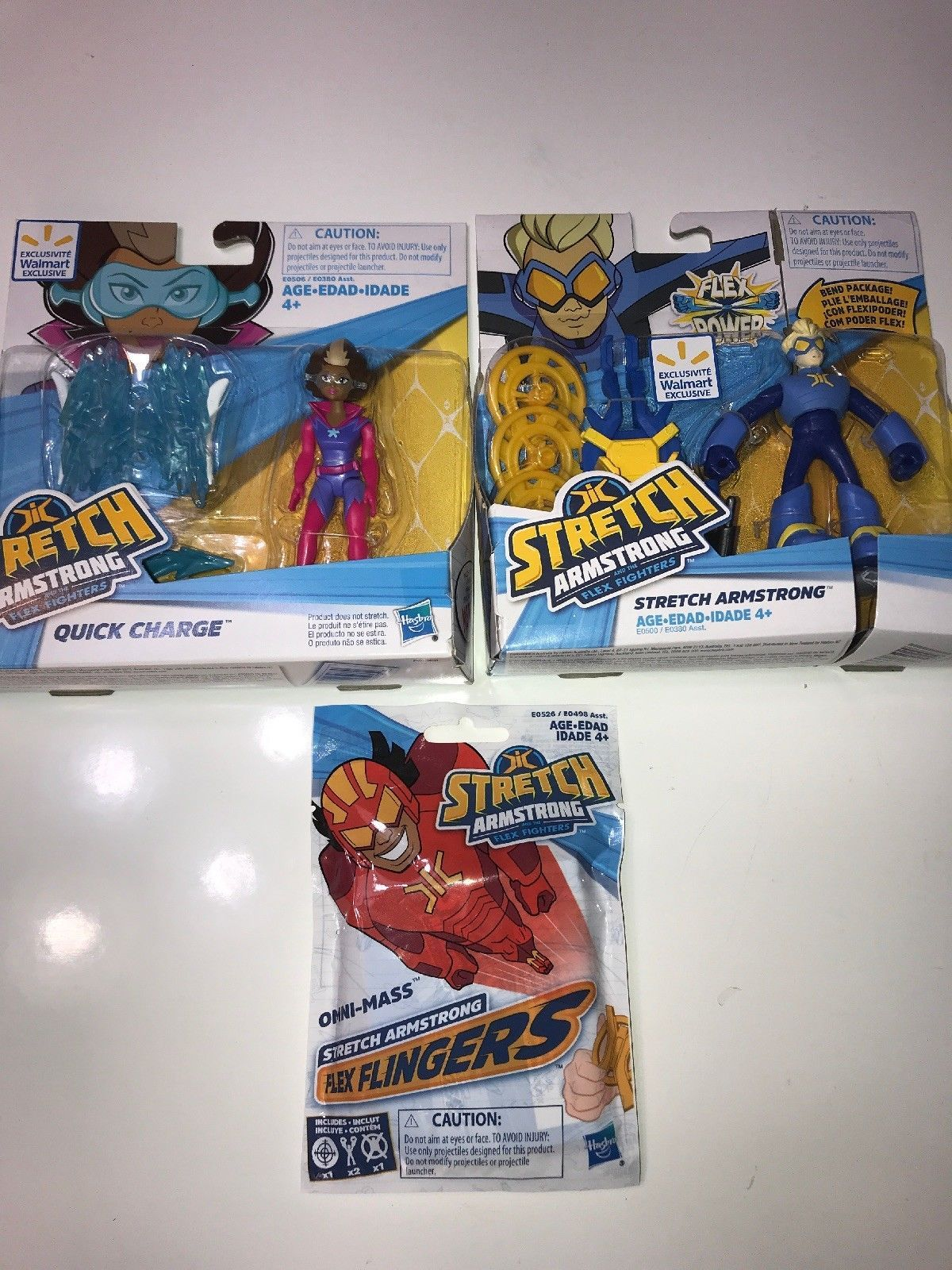 Stretch Armstrong Action Figure Toy Flex Fighters Kids Boys TV Play Game Doll