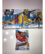 Stretch Armstrong and The Flex Fighters Lot of 3 Toys New Quick Charge O... - $26.64