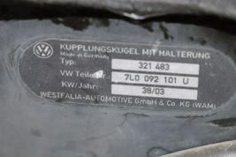 04-10 VW Touareg V10 TDi 04-09 Cayenne Tow Trailer Hitch Kit Module & Harness image 11