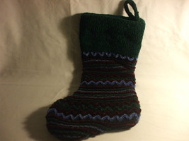 100% Polyester Christmas Stocking Multi Colored - $11.99