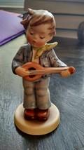 "Goebel Hummel Figurine ""Little Troubadour"" #558 TMK-7  Club Member - $24.99"