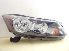 2008 2009 2010 2011 2012 Honda Accord Sedan Passenger Rh Headlight Oem 114 - $72.75