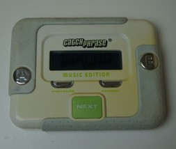 CATCH PHRASE MUSIC EDITION ELECTRONIC HANDHELD GAME TESTED 2006 - $8.90