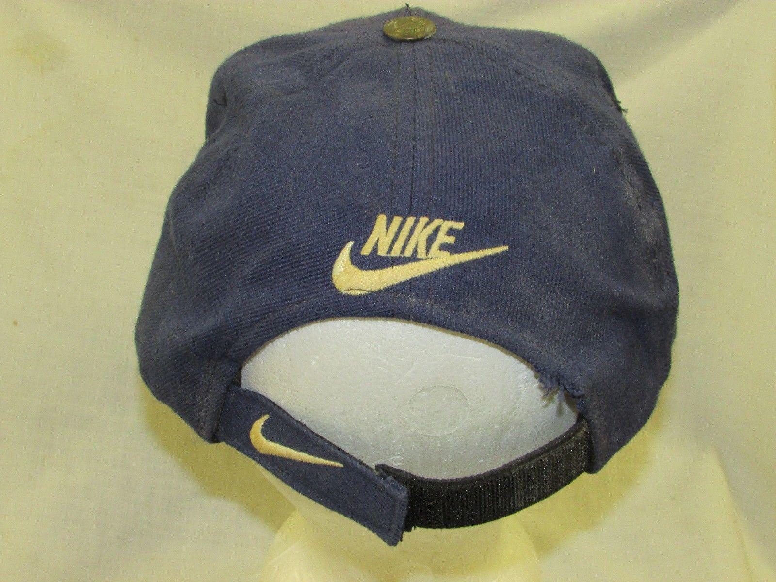trucker hat baseball cap NIKE retro old style vintage unique rare curved brim