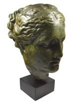 Hygeia ancient Greek Goddess of health great bronze head Statue - $499.00
