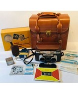 Vtg Kodak Stereo Camera Field Case Double Shutter Anaston Lens 35mm f/3.... - $178.19