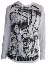 u4 Men Yoga Hoodie long sleeve Yoga Mushroom Magic Sure om WEED M HIPPIE... - $17.81