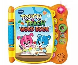 VTech Musical Touch& Teach Educational Word Book for Babies - $26.41