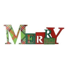"Roman 23"" ""Merry Christmas"" Multi Colored Wall Plaque - $27.22"