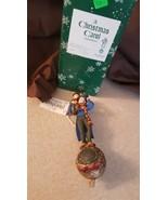 Dept 56 RARE A Christmas Carol Storybook Ornament Bob Cratchit & Tiny Ti... - $29.95