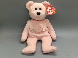 TY Beanie Baby - CURE the Pink Bear (Breast Cancer Awareness Bear)  - $6.93