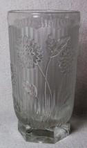 Jeannette Glass Rare Herringbone & Chrysanthemum Tumbler Depression Glass 1920's - $75.00