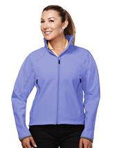Tri-Mountain Ascent 6420 Poly Stretch Bonded Soft Shell Jacket - Lilac/D... - $48.65+