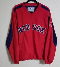 Boston Red Sox MLB Genuine Merchandise Windbreaker Pullover Jacket Large... - $48.46
