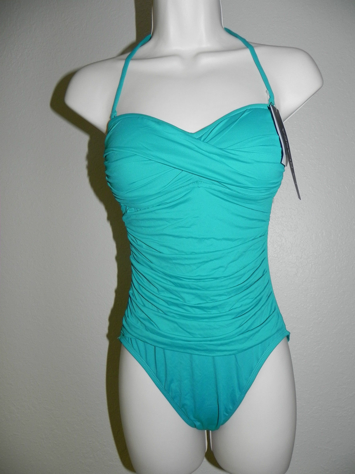 Primary image for La Blanca Swimsuit 1pc Size 6 SGL Style LB4KV20 NWT $109