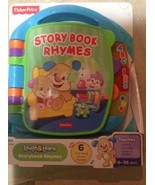 Fisher-Price Laugh & Learn Storybook Rhymes Book   - $14.85