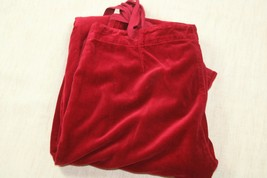 Juicy Couture Womens Velvet Velour  Pants Sz 29 X 34 - $27.89
