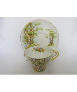 "Vintage Shelley English Bone China Cup & Saucer - ""Daffodil Time"", 1940s... - $29.99"