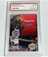 1992 #382 SKYBOX SHAQUILLE O'NEAL PSA MINT 9 (MR) RC ROOKIE CARD - $98.99